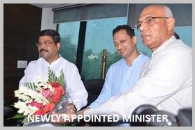 New Minister (Shri Dharmendra Pradhan) & Minister of State (Shri Anantkumar Hegde) have been appointed for Skill Development and Entrepreneurship: 04th September, 2017