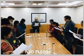 NVD Pledge National Voters' Day : 25th January 2020